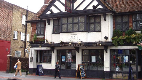 Croydon pub closed for gang violence. Pic: Creative Commons