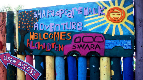 Hackney playground has received prize at the London Adventure Play Awards. Pic- Ewen-M