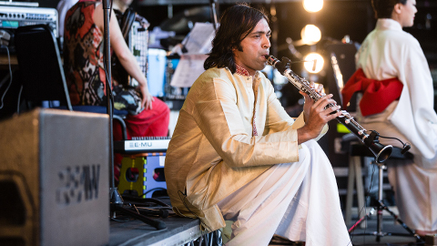 Arun Ghosh to play in Deptford. Pic: London Jazz Festival