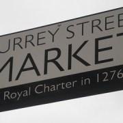 Surrey Street Market dates back to Saxon times