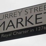 Surrey Street Market dates back to Saxon times
