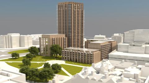 Plans for Taberner House. Pic: Croydon Council