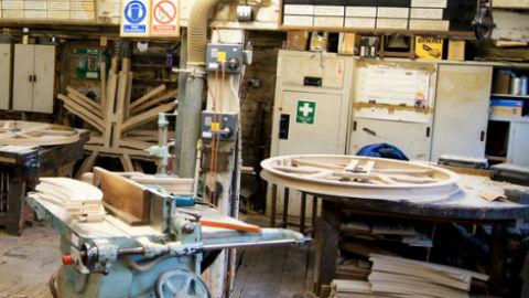 The foundry's workshop Pic: Jordan Koehl