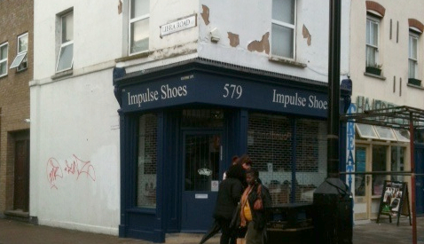 Impulse Shoes shopfront Pic: Kitty Knowles