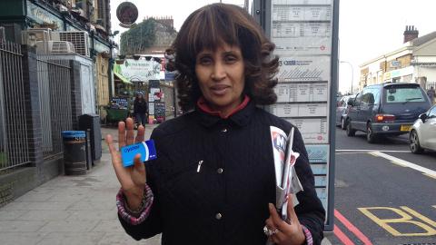 Ms Samuels. Pic: Krys Osei