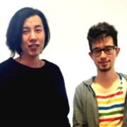 Jun Kim (left) and Henri Ghosn (right) of Arnis Purple. Pic: Krys Osei