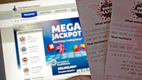 Euromillions Tickets. Pic: Magnus D