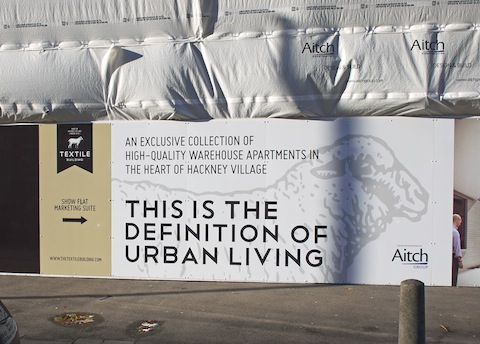 Many areas of Hackney have been subject to gentrification in recent years. Pic: Alan Denney