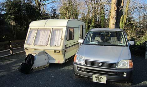 Pete Hamilton's Caravan pic: Chiara Rimella