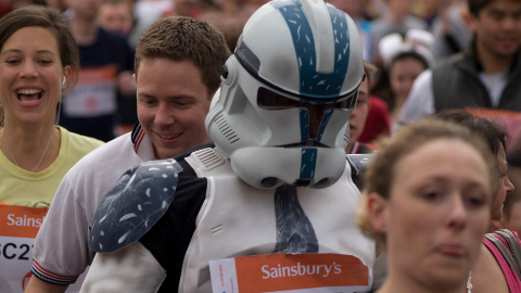 Fancy dress is heavily encouraged at most events. Pic: Flickr