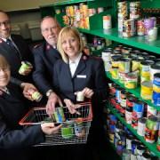 The Vine food bank in Croydon Pic: Fergus Burnett