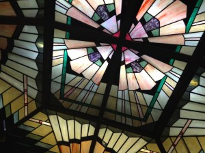 Stained Glass depiction of… Democracy? Photo: John Wakefield