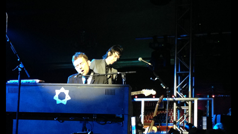 Damon Albarn performing at the Rivoli Pic: Valeria Beretta