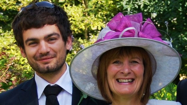 Gareth Huntley 4 (with mother)