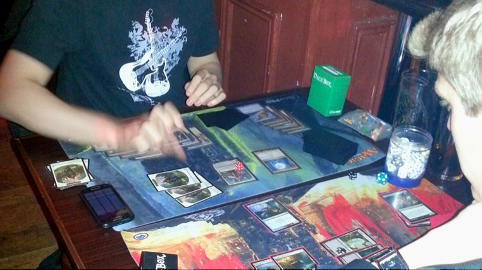 The game was created in 1993 by Richard Garfield, a doctoral student and mathematician. Photo: Laura Woodrofe