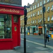 The eye-catching Bookartbookshop in Shoreditch