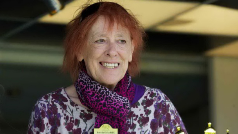 Brenda Kirby worked throughout her illness for other cancer sufferers Pic: Croydon Advertiser