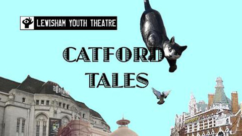 "Lewisham Youth Theatre's project ""Catford Tales"" will be performed in July 2015. Pic: LYT"