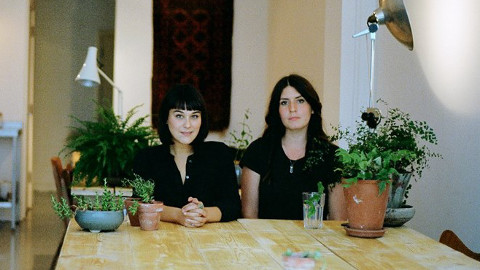 The Founder creators, Semina Raza and Thirzie Hull. Pic. The Founder