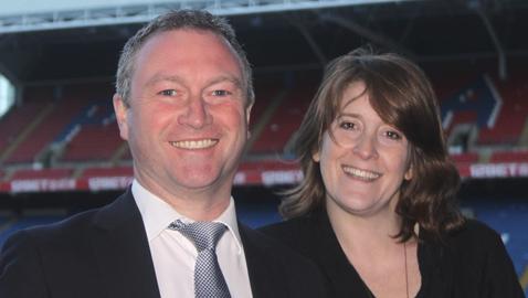 Labour's Steve Reed and Sarah Jones. Photo: Zone4Croydon
