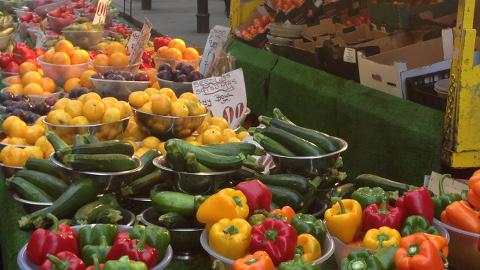 Surrey Street Market. Pic: Jazmin Kopotsha