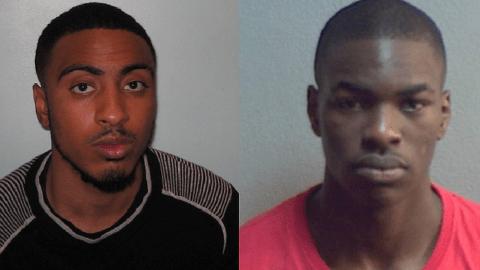 Rishi Nankani and Daniel Emifeoluwa. Pic: Metropolitan Police