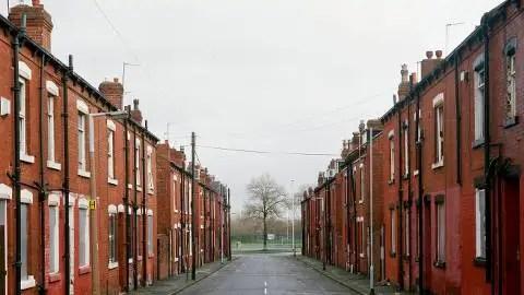 Social housing. Pic: Alex Currie