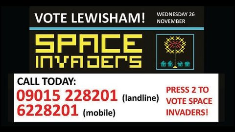 Lewisham Space Invaders project. Pic: Phoenix Community