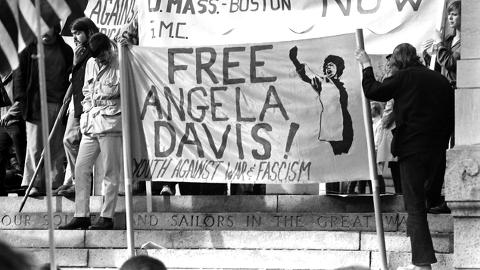 Free Angela Davis. Pic: Nick Dewolf