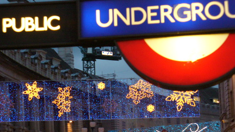 London transport may be disrupted this Christmas. Pic: Manel