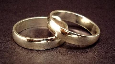 Wedding rings. Pic: Jeff Belmonte