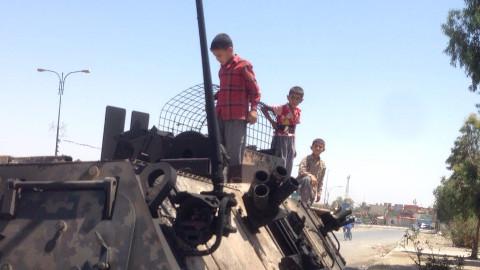 A scene from Mosul. Pic: Muna Fadhil