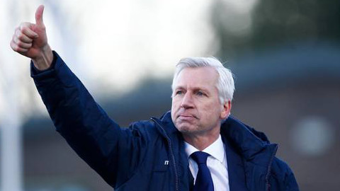 Alan Pardew. Pic: Crystal Palace FC.