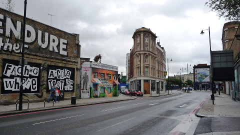Great Eastern Street, Shoreditch. Pic: John Lord