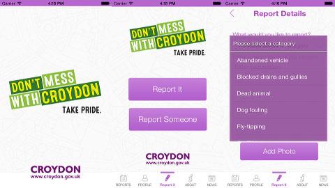 MyCroydonApp Pic:Croydon Council
