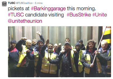 Unite Protesters, tweeted by @TUSCoalition