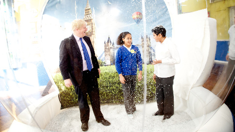 Boris Johnson, Croydon @Mayors Press Office