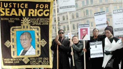 Justice for Sean Rigg. Pic: Sean Rigg Justice and Change Campaign