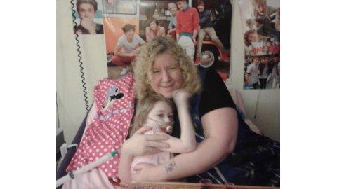 Lynn Baker wants to make her daughter, Lucy, proud Pic: Lynn Baker