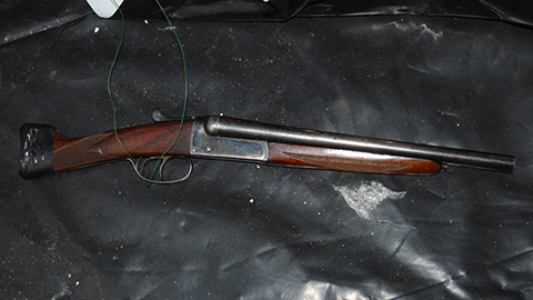 The men were arrested after a sawn-off shotgun was found in Daly's rented Norbury Crescent home Pic: Metropolitan Police