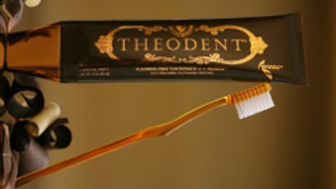 Theodent toothpaste Pic: Theodent
