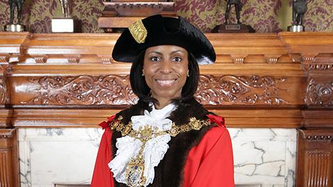 Patricia Hay-Justice is the new Mayor of Croydon. Pic: Croydon Council