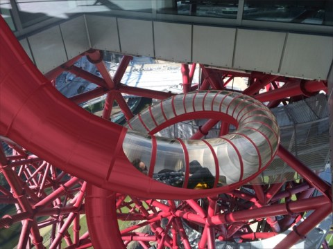 The slide will have transparent sections where people can take in the sights of London Pic: Queen Elizabeth Olympic Park