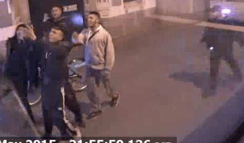 CCTV footage of the accused   Pic: City of London Police