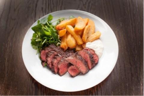 Steak! Pic: Toby Allen