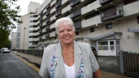 Pictured: Alice Burke, winner of Good Morning Britain Local Hero Award. Credit: Philip Coburn