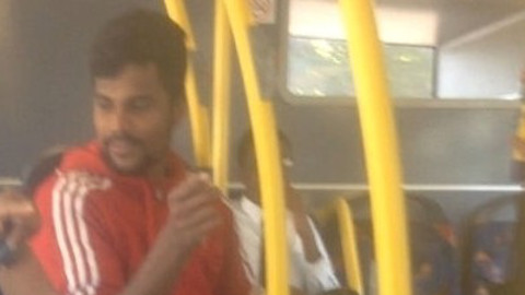Suspect wanted for sexual assault. Pic: Met Police
