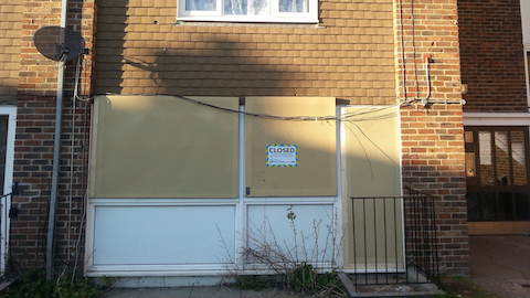 Pic: Drugs Den in Frimley Close,  shut down by the council. Credit: Croydon Council