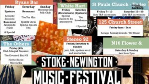 Some of the stage acts at Stoke Newington Festival - Credit: Brook Hackney