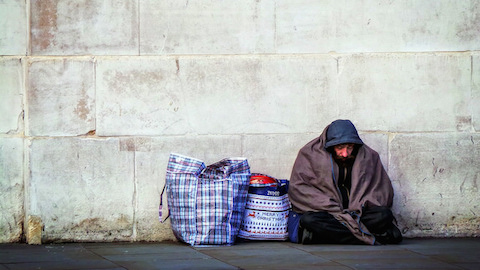 More private renters are becoming homeless Pic: Garry Knight